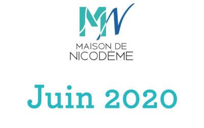 Lettre de nouvelles – Juin 2020