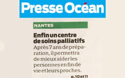 Bientôt un centre de soins Palliatifs à Nantes [Article Presse Océan]