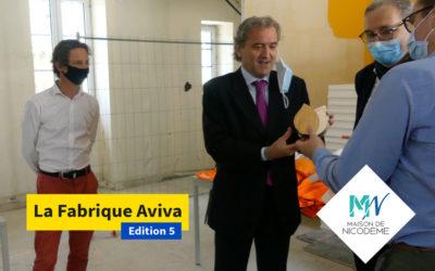 Vidéo remise du prix La Fabrique Aviva Grand Ouest & interview de Fabrice Lagadec Directeur régional Aviva