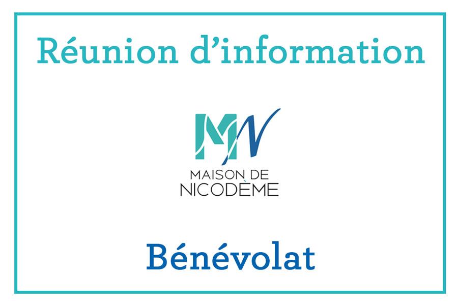 Réunion d'information – Bénévolat Maison de Nicodème