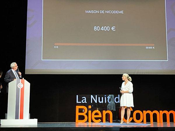 La Maison de Nicodème à la soirée de Nantes pour le Bien Commun